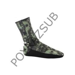 Apnea 3 mm Supratex Tabanlı Kamuflaj Çorap