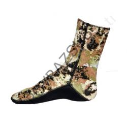 Apnea 5 mm Kamuflajlı Çorap