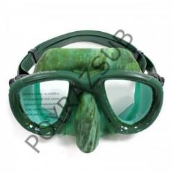 Apnea X-Low Yeşil Kamuflajlı Maske