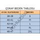 Jak Boeno Quartz Black Çorap 5 mm