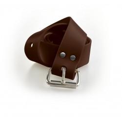 C4 Marsilya Tokalı Kahverengi Kemer